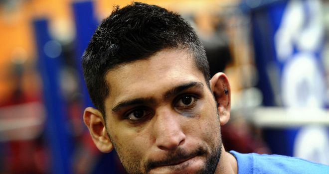 Amir Khan: Disappointed with Lamont Peterson