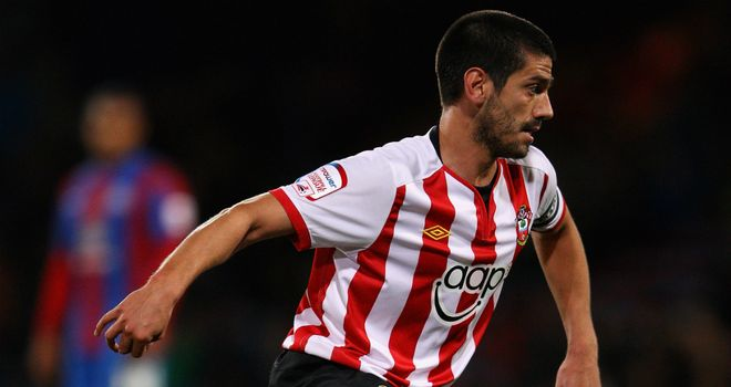 Danny Butterfield: Signed a new deal at Southampton