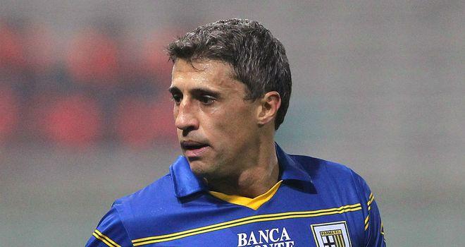 Hernan Crespo: Has left Parma after being deemed surplus to requirements