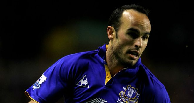 Donovan enjoyed two separate loan spells at Everton towards the end of his career