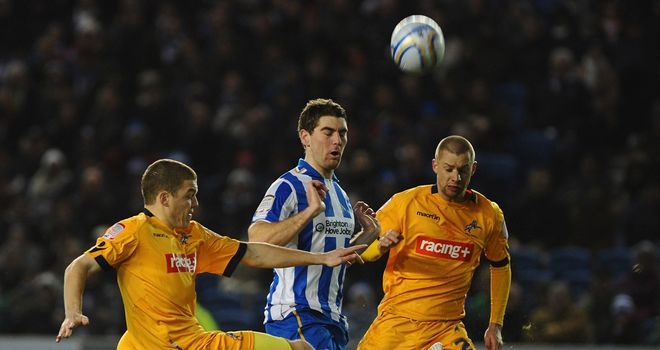 Sam Vokes: Striker is unsure of his future at Wolves and is focusing on his loan at Brighton