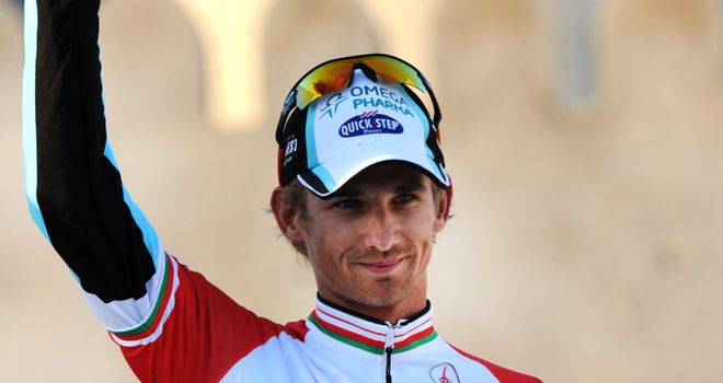 Peter Velits: Clocked up yet another win for his Omega Pharma-Quickstep squad