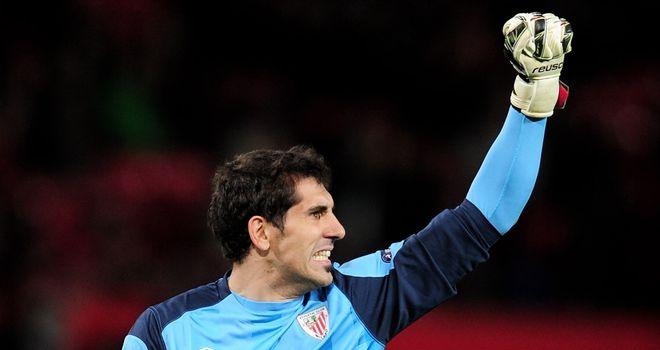 Gorka Iraizoz: Athletic Bilbao goalkeeper expecting tough test against Manchester United