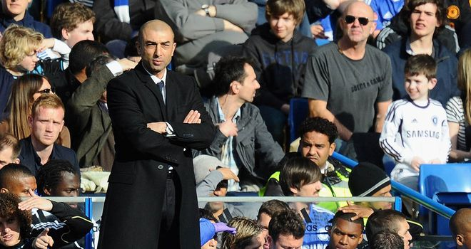 Roberto Di Matteo: Chelsea manager looking forward following 1-0 win over Stoke