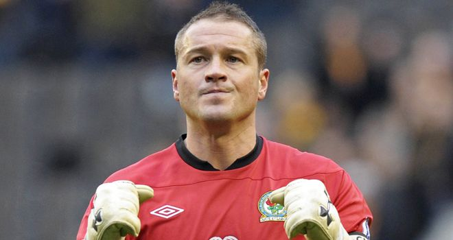 Paul Robinson: Has lost his place in the Blackburn side to Jake Kean