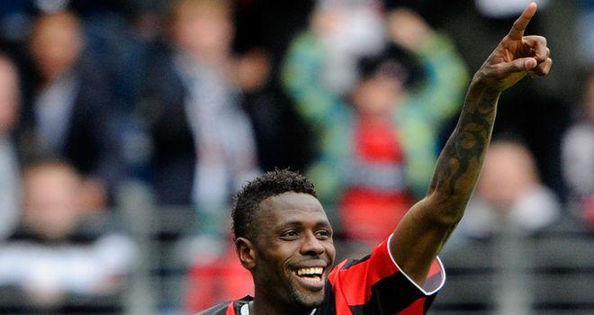 Mohamadou Idrissou: The Kaiserslautern striker became a cult hero in one season at Eintracht Frankfurt