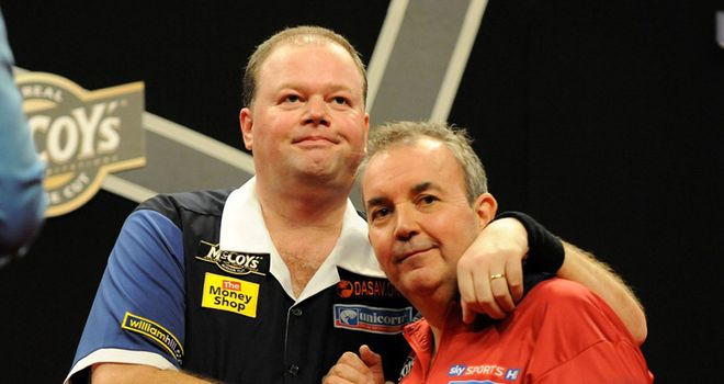 Van Barneveld and Taylor: clash in Sheffield