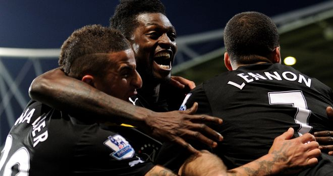Emmanuel Adebayor: 'Hungry for goals' after returning to Tottenham on a permanent deal