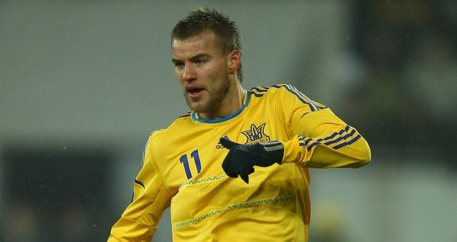 Andriy Yarmolenko: Scored an early opener for Ukraine