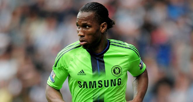 Didier Drogba: Sir Alex Ferguson is glad that he will not have to contend with the Chelsea striker