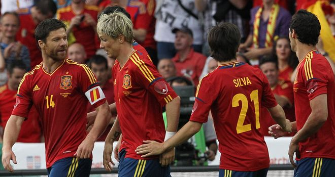 Fernando Torres: Scored Spain's opener as they sailed past South Korea