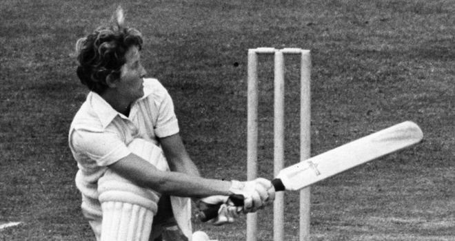 Heyhoe-Flint was the first woman inducted into the ICC's Hall of Fame