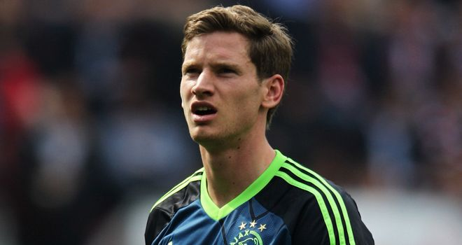 Jan Vertonghen: Expected to be plying his trade in the Premier League next season