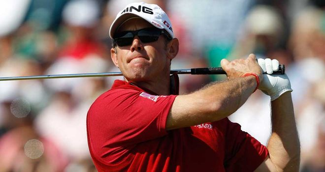 Lee Westwood: made the cut with nothing to spare