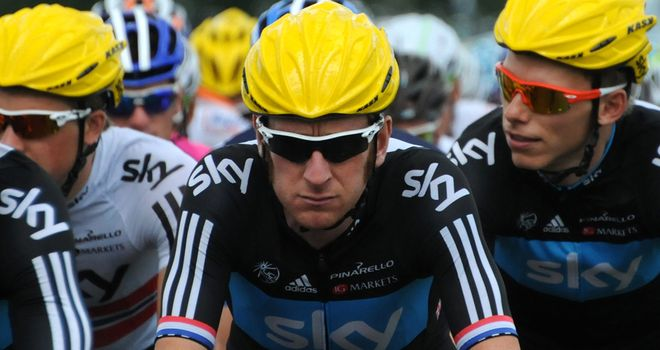 Wiggins: Stayed out of trouble on stage six