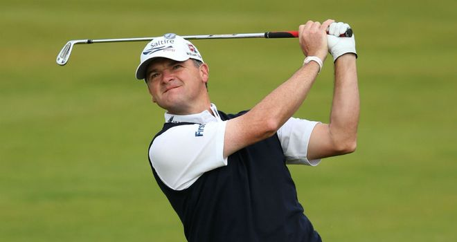 Paul Lawrie: Strong start to the Open Championship