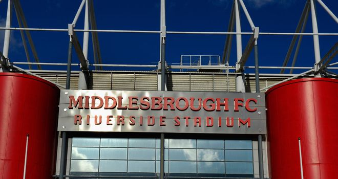 Riverside Stadium: Burn signs on