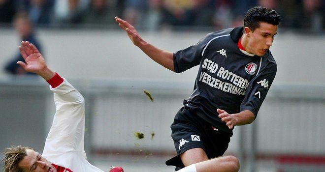 Van Persie came through the ranks at Feyenoord before being signed by Arsene Wenger
