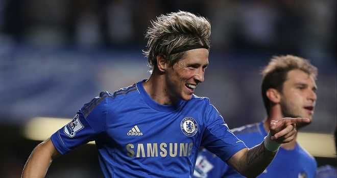 Fernando Torres: Is enjoying himself at Stamford Bridge after a difficult start to his Chelsea career