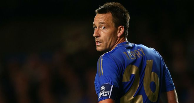 John Terry: Doubtful for Wolves match
