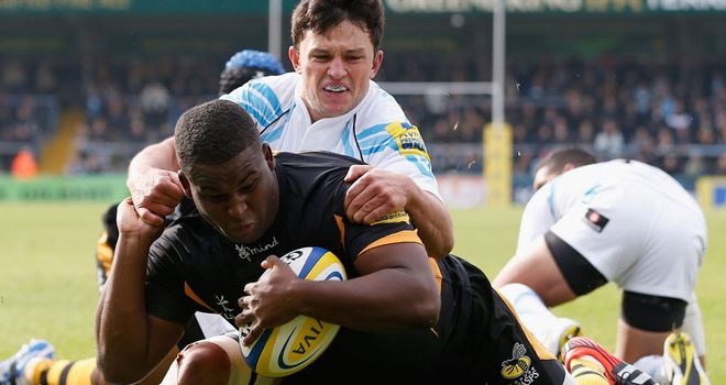 Simon McIntyre has impressed since joining London Wasps
