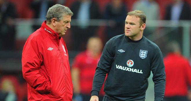 Roy Hodgson: Backing Wayne Rooney