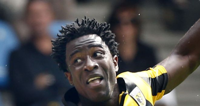 Wilfried Bony: Netted a hat-trick for Vitesse in the Eredivisie at the weekend