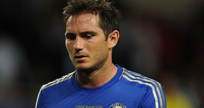 Frank Lampard: Will see his current contract expire at the end of the season