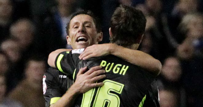 Michael Brown and Danny Pugh: Praised by Brian McDermott