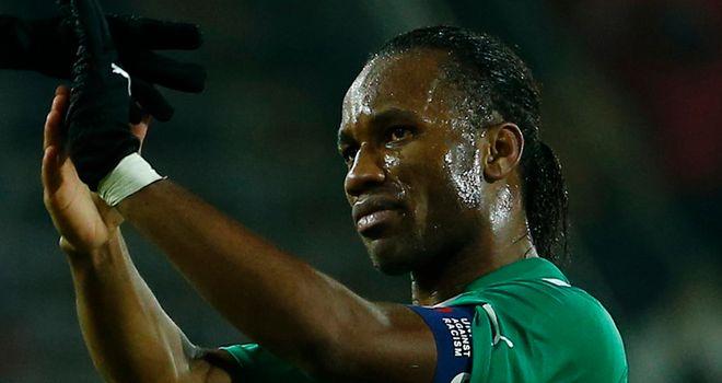Didier Drogba: Scored for Ivory Coast in Austria