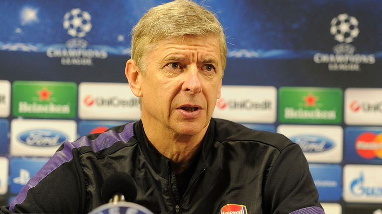 Arsene Wenger: Looking for Champions League confidence boost