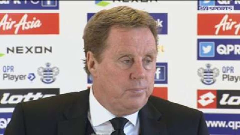 Harry Redknapp had been in charge at QPR for less than a month before his rant
