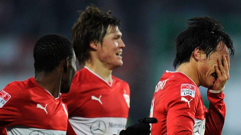 Shinji Okazaki scored the winning goal