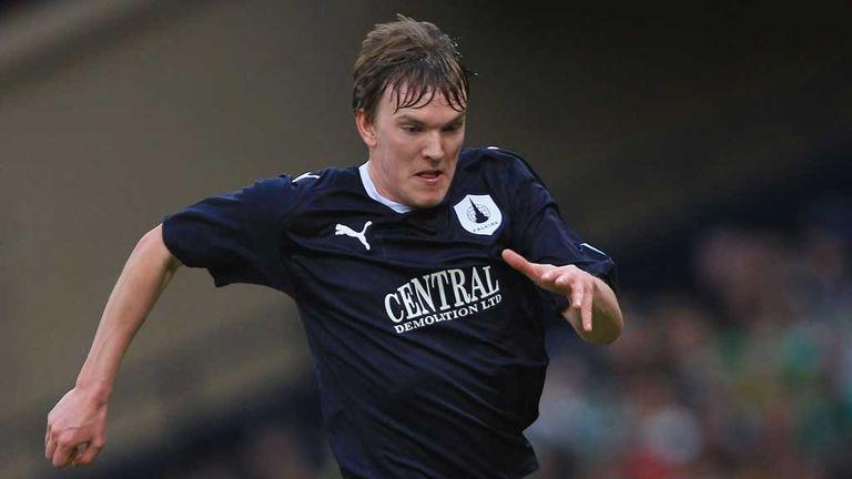 Kieran Duffie: Ninth-minute header enough for Falkirk to advance