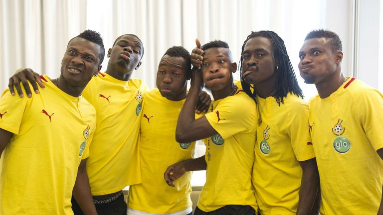 Ghana: Looking for their first win of the tournament against Mali