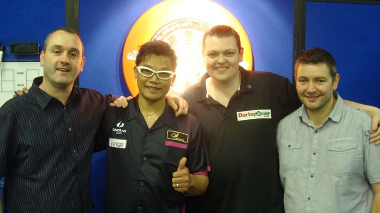 Joey Palfreyman, Royden Lam, Kevin McDine and Steve Coote