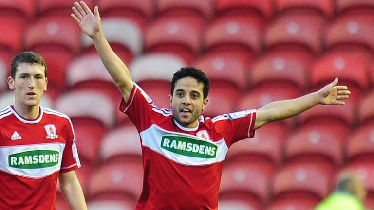 Merouane Zemmama: Scored seven times for Middlesbrough