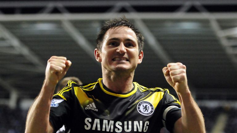 Frank Lampard has been in hot form for Chelsea over the last two months