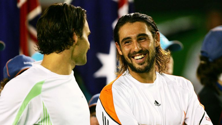 Marcos Baghdatis wowed fans with his run to the 2006 final
