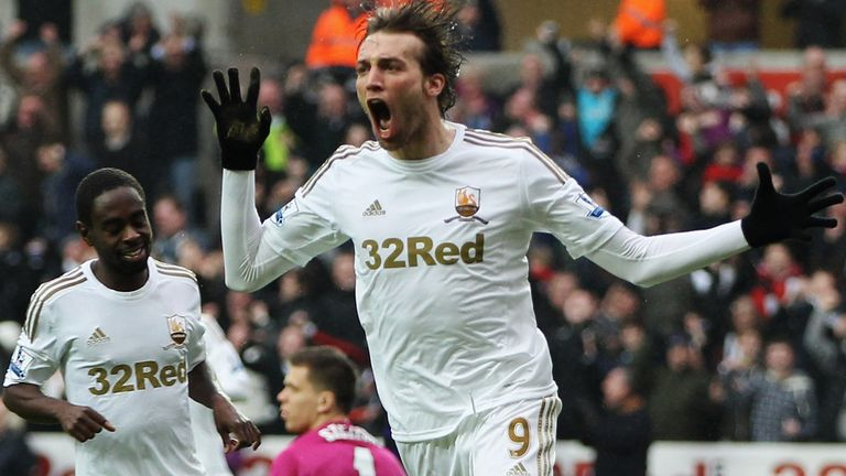 Michu: Has netted 16 times in all competitions so far this season