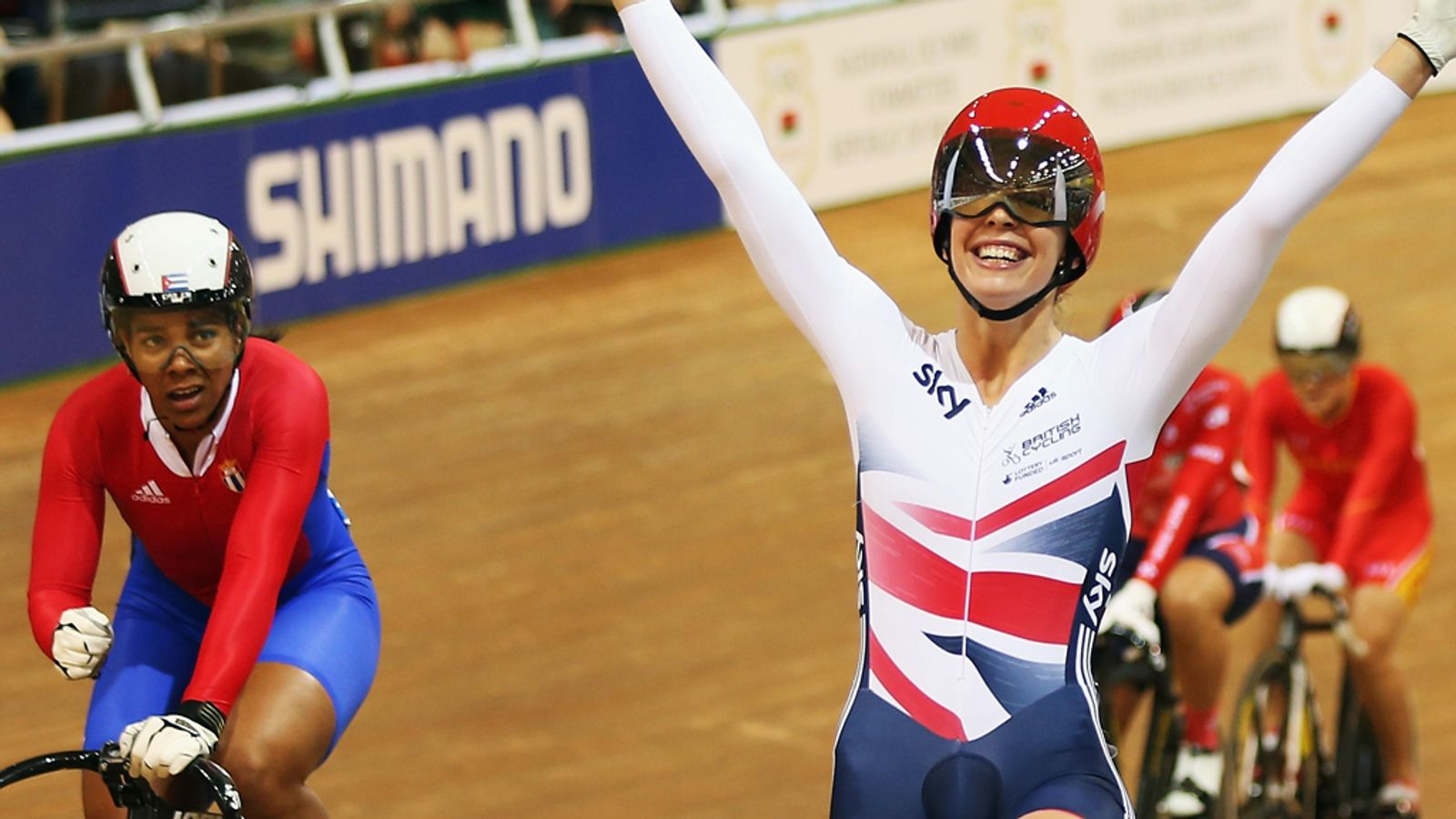 Becky James makes history by winning fourth medal in Minsk with keirin gold