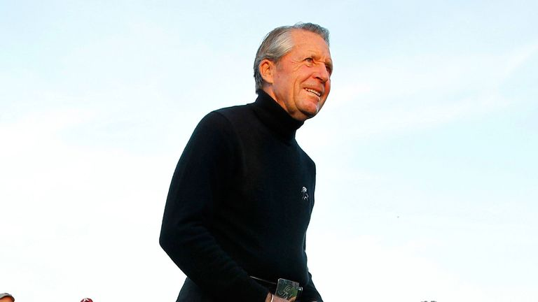 Gary Player is team captain for his country in Brazil this summer