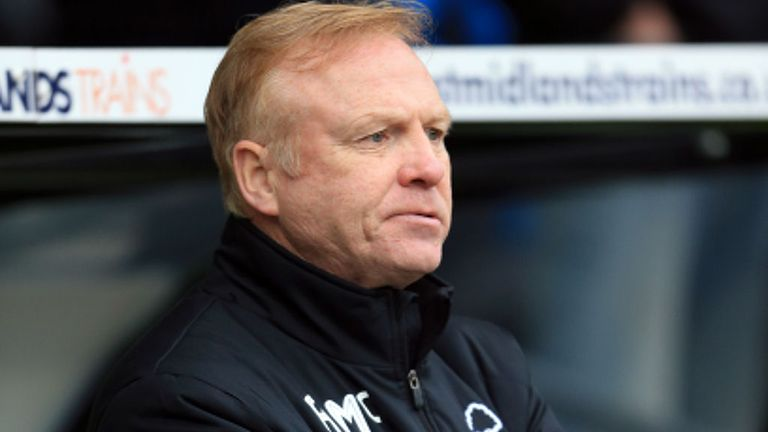 Alex McLeish: No longer Nottingham Forest manager