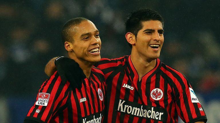 Anderson and Carlos Zambrano lead the celebrations