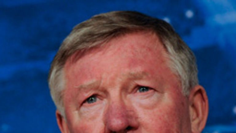 Sir Alex Ferguson: Manchester United boss ready to face Real Madrid