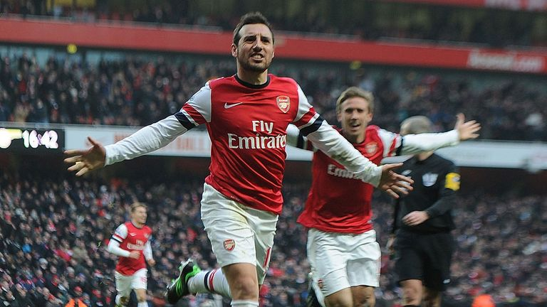 Santi Cazorla: Is not the subject of a bid from Atletico Madrid, says club president Enrique Cerezo