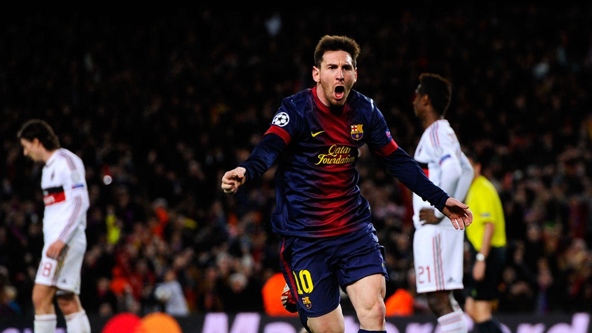 Barcelona 4 0 Ac Milan Match Report Highlights