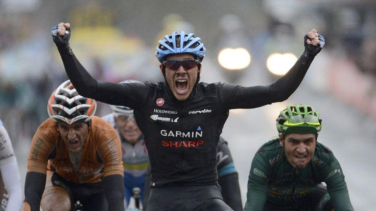 Andrew Talansky wins stage three at Paris-Nice to take race lead