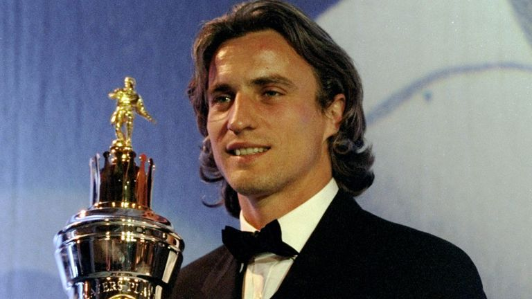 David Ginola: won the League Cup with Spurs under George Graham in 1999