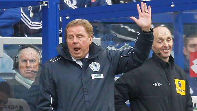 Harry Redknapp: Praised QPR's spirit after the defeat by Arsenal